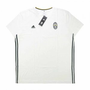 2016-17 Juventus Adidas Three Stripe Training Tee (White)