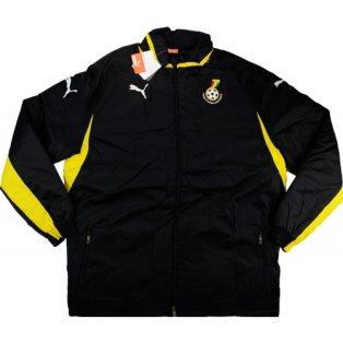 2012-13 Ghana Puma Padded Jacket (Black)