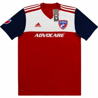2018-2019 FC Dallas Adidas Home Football Shirt (Kids)