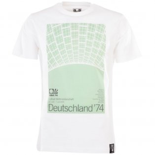 Pennarello: World Cup - Deutschland 1974 T-Shirt - White