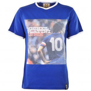Pennarello: LPFC - Platini T-Shirt - Royal/White Ringer