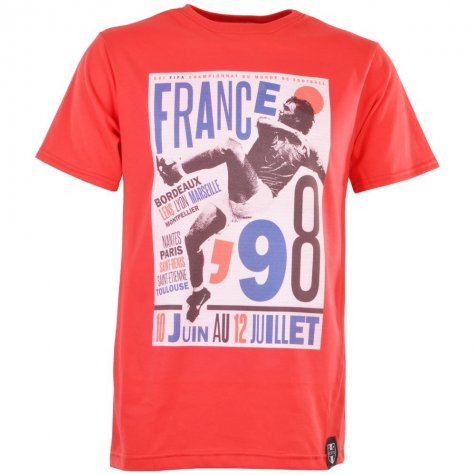 Pennarello: World Cup - France 98 T-Shirt - Red