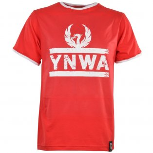 Liverpool YNWA T-Shirt - Red/White Ringer