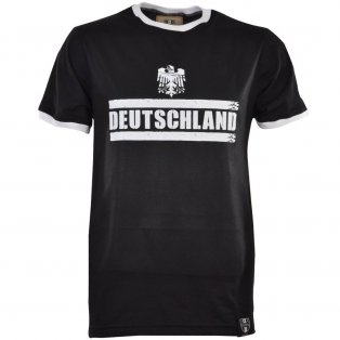 Deutschland T-Shirt - Black/White Ringer