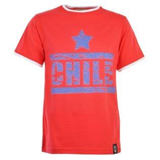 Chile T-Shirt - Red/White Ringer