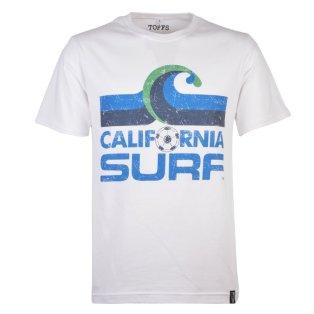 California Surf T-Shirt - White Tee