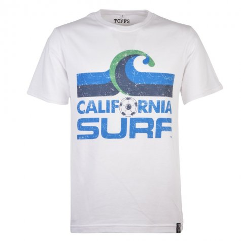 California Surf T-Shirt - White Tee