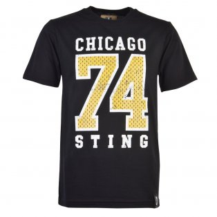 Chicago Sting 74 T-Shirt - Black