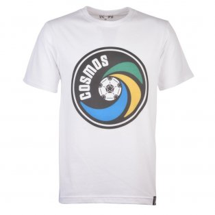 New York Cosmos Vintage Logo White T-Shirt