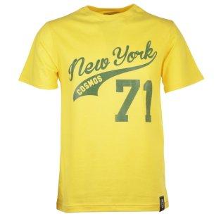 New York Cosmos 71 Yellow T-Shirt