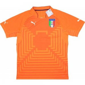 2014-15 Italy Puma Authentic Third Goalkeeper Shirt
