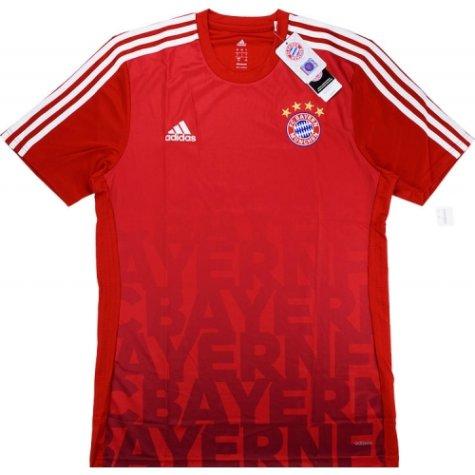 2015-16 Bayern Munich Adidas Pre-Match Training Shirt (Red)