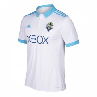 2018 Seattle Sounders Adidas Away Football Shirt - Kids