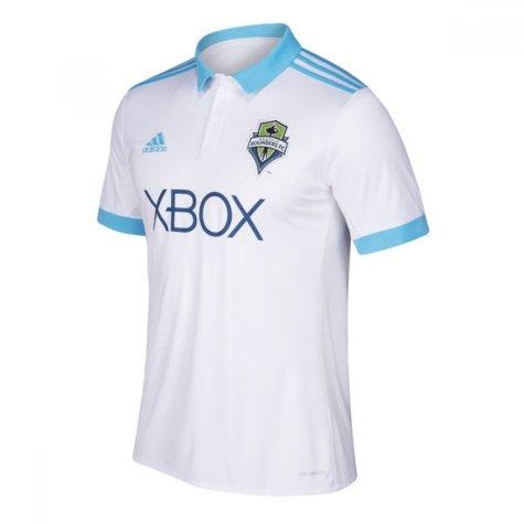 2018 Seattle Sounders Adidas Away Football Shirt - Kids