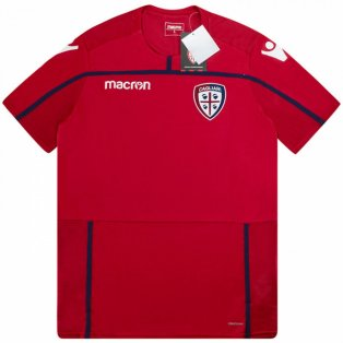 2018-2019 Cagliari Macron Training Shirt (Red)