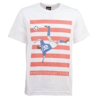 Pennarello: Roberto Baggio USA '94 T-Shirt - White £25.00
