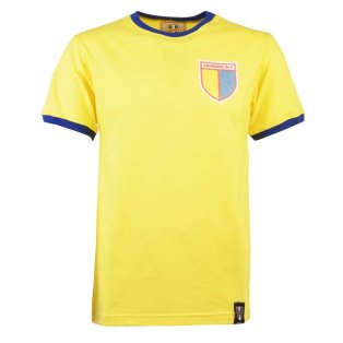 Colombia 12th Man - Yellow/Royal Ringer