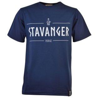 Stavanger Norge T-Shirt - Navy