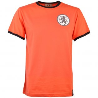 Dundee 12th Man T-Shirt - Orange/Black Ringer
