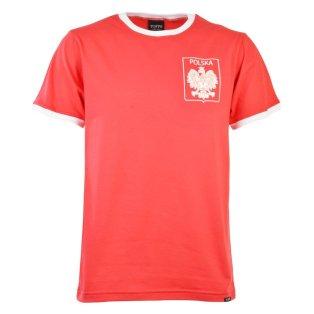 Poland 12th ManT-Shirt - Red/White Ringer