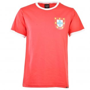 Portugal 12th ManT-Shirt - Red/White Ringer