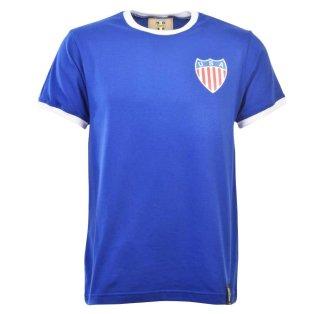 USA 12th Man T-Shirt - Royal/White Ringer