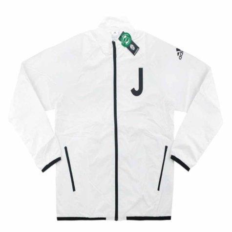 2016-17 Juventus Adidas Street Woven Jacket (White)