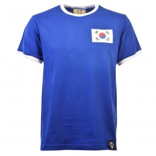 South Korea 12th ManT-Shirt - Royal/White Ringer