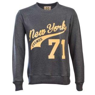 NASL: New York Cosmos 71 Amber Print Sweatshirt - Charcoal