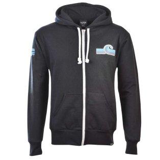 NASL: California Surf Zipped Hoodie - Black