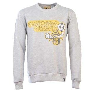NASL: Chicago Sting Sweatshirt - Light Grey