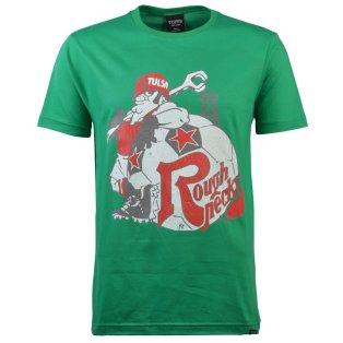 Tulsa Roughnecks - Green T-Shirt