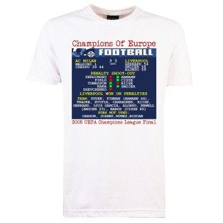 2005 Champions League Final (Liverpool) Retrotext T-Shirt