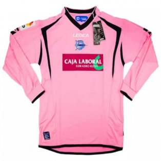 2009-10 Alaves Away L/S Shirt