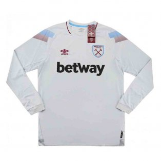 West Ham Umbro Third Long Sleeve Football Shirt