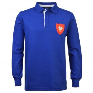 France 1972 Vintage Rugby Shirt