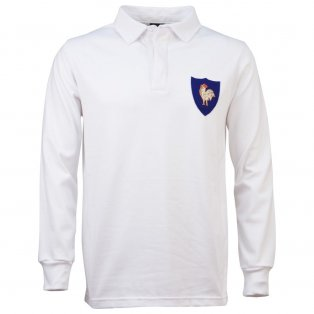 France 1972 Away Vintage Rugby Shirt