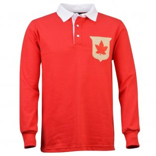 Canada 1902 Vintage Rugby Shirt