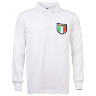 Italy 1975 Vintage Away Rugby Shirt