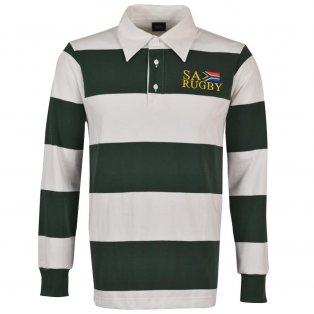 South Africa Hooped Rugby Shirt