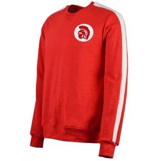 Ajax Sweatshirt Red/White