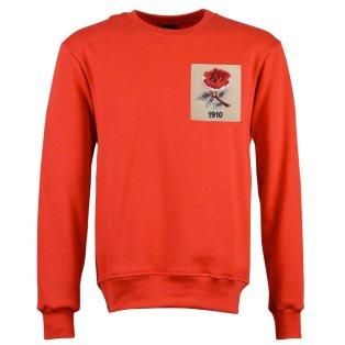 England Rose 1910 Red Sweatshirt