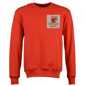 France Rooster 1924 Red Sweatshirt