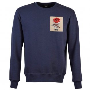 England Rose 1910 Navy Sweatshirt