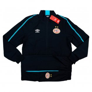 2016-17 PSV Woven Training Tracksuit (Black)
