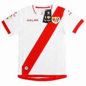 2016-2017 Rayo Vallecano Kelme Home Football Shirt - Kids