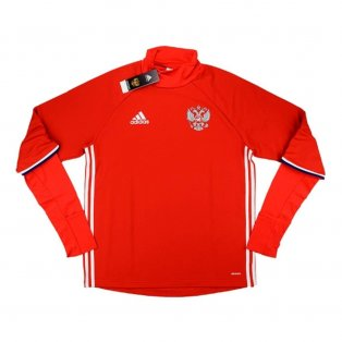 2016-17 Russia Adidas Training Top (Red)