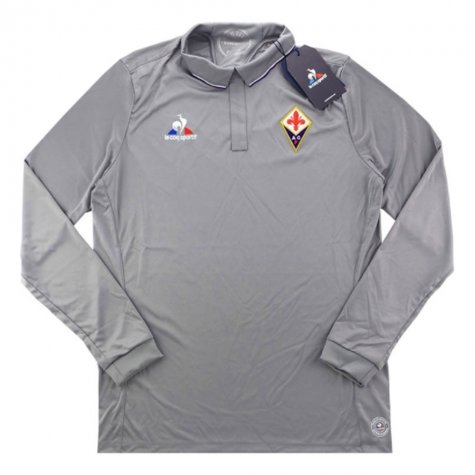 2016-17 Fiorentina Home Long Sleeve Goalkeeper Shirt