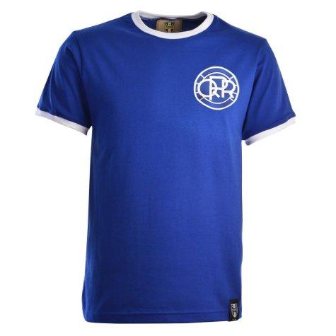 Queen's Park Rangers 12th Man T-Shirt - Royal/White Ringer