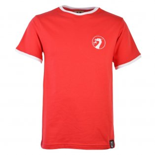 Liverpool 12th Man T-Shirt - Red/White Ringer